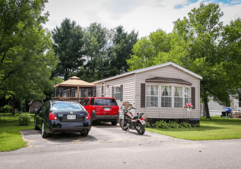 Stevens Homes and Communities on mobile home parking lot, tiny house parking space, motorcycle parking space,